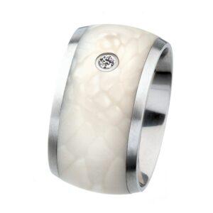 Edelstahl Ring Silkwood Brillant Ernstes Design
