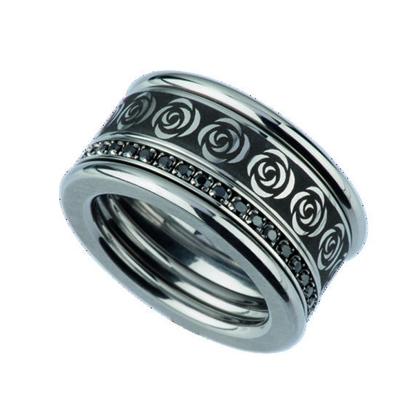 Edelstahl Ringe Ed Vita Ernstes Design