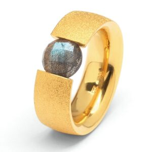 Bernd Wolf Ring Bahia Labradorit