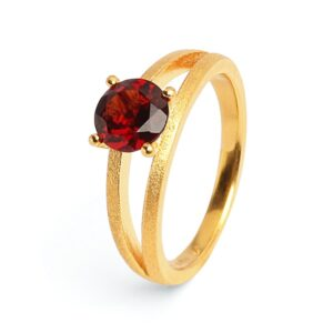 Bernd Wolf Ring Granat Brilliana