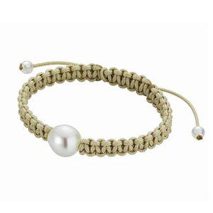 Perlen Armband Markramee Südseeperle