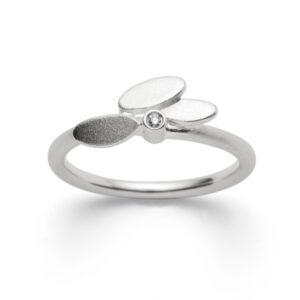 Silber Ring Diamant bastian inverun