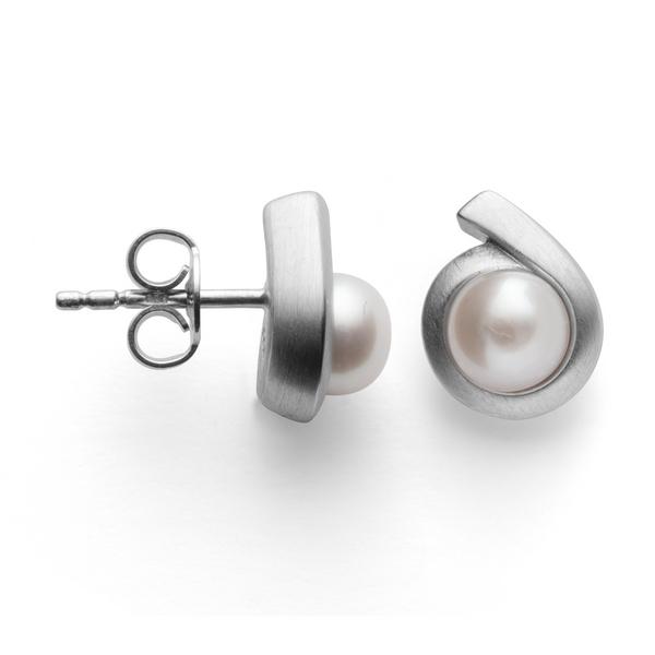 Silber Ohrstecker Perlen bastian inverun
